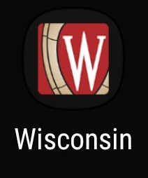 The icon for the Wisconsin App
