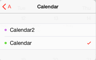 select the calendar which you want this event to be create in
