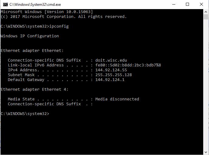 network adapter configuration problem windows 7