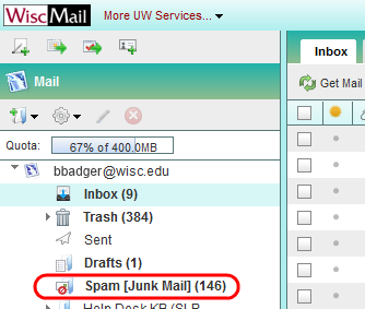Opening Junk Mail