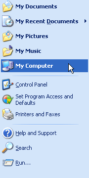 Windows XP Start Menu