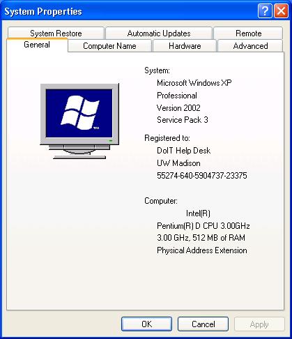XP System Info