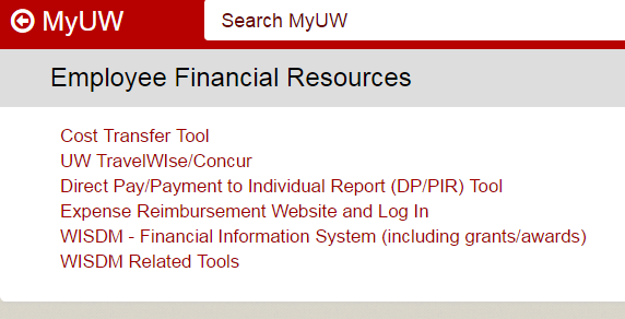 Financial Resources Module