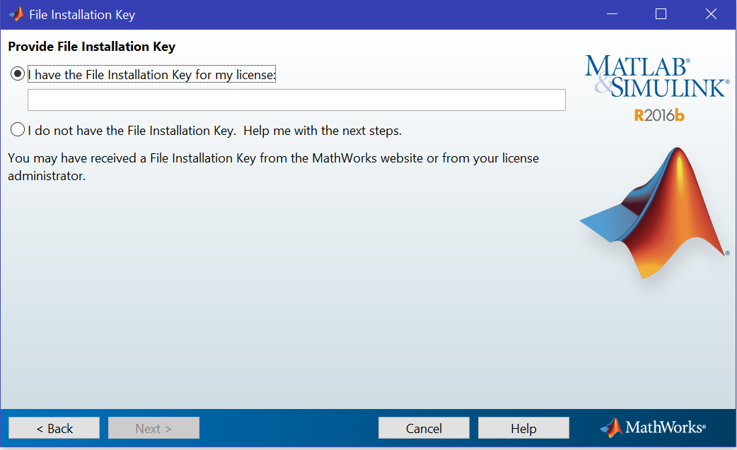 File Installation Key