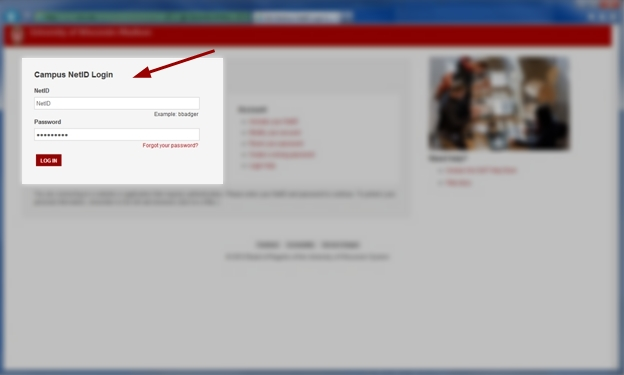 university of wisconsin madison login page