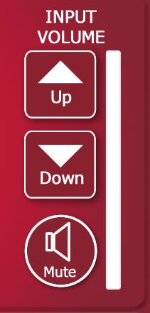 Input Volume Control