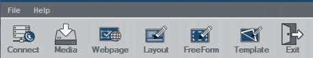 editing a layout