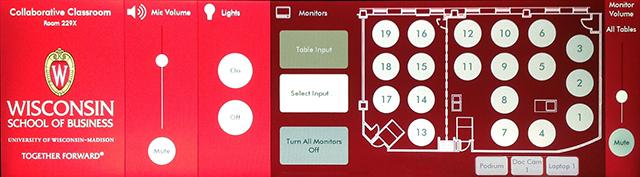 CLC AMX Panel Interface