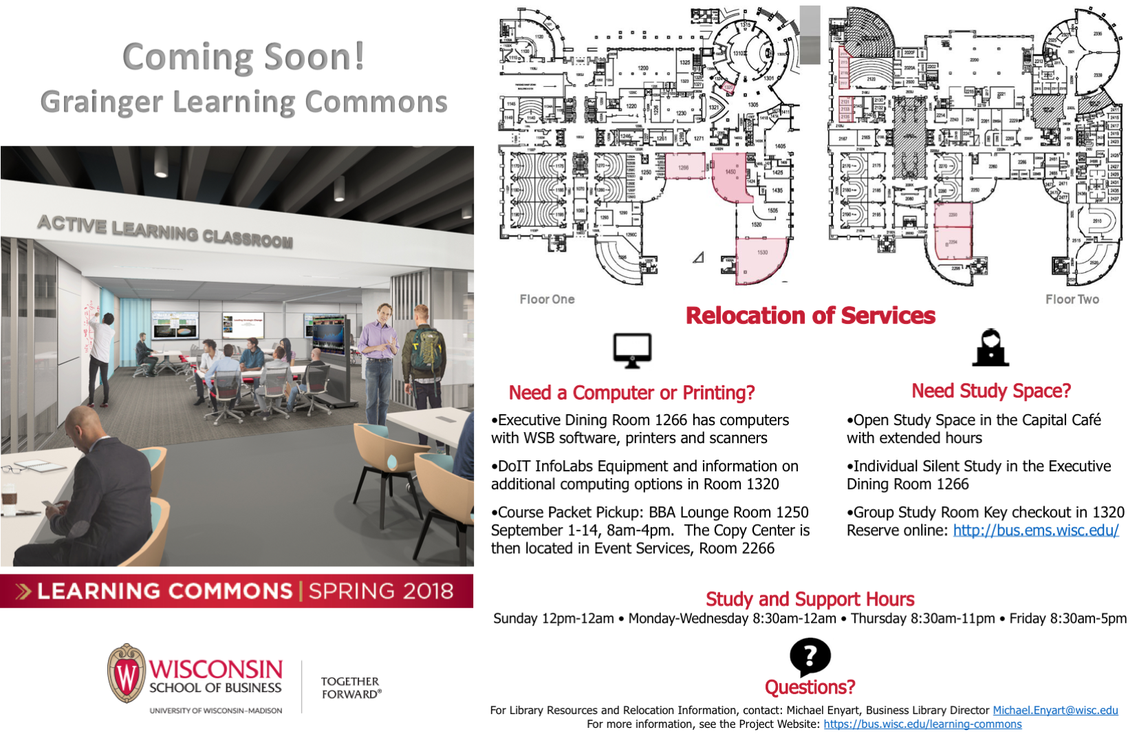 Learning Commons Information