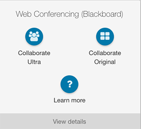 New and Improved Web Conferencing Widget