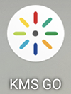 A screenshot of the KMS Go app icon.