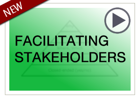 Begin Facilitating Stakeholders module