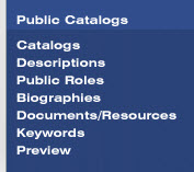 Image of Public Catalogs tab