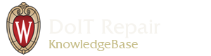 DoIT Repair Knowledgebase