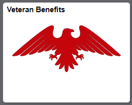 Veteran benefits tile