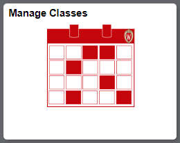 Manage classes tile