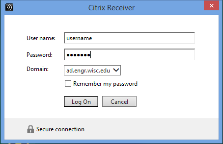 Accessing local resources with Citrix Receiver