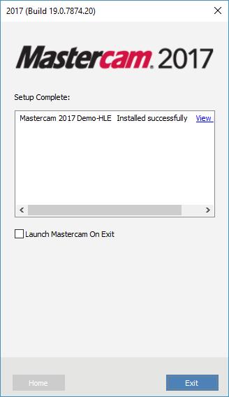Installing Mastercam