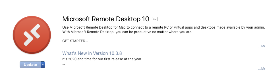 Getting Microsoft Remote Desktop for OS X