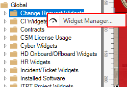 Accessing Widget Manager From Dashboard Editor