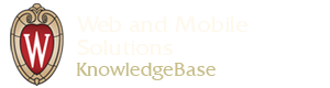 Web and Mobile Solutions KnowledgeBase