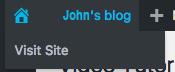 blog icon menu