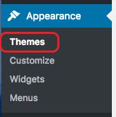 theme menu
