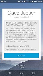 image of 911 warning