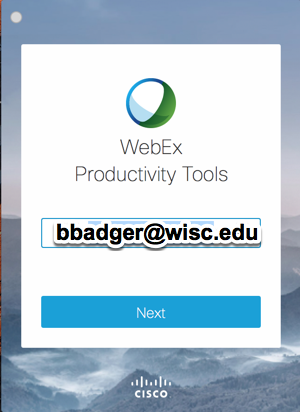 https://kb.wisc.edu/images/group32/shared/WebEx/webexprodtoolslogin.png