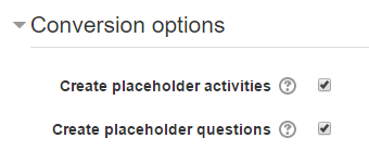 placeholder options checkboxes