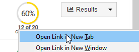 Open link in new tab