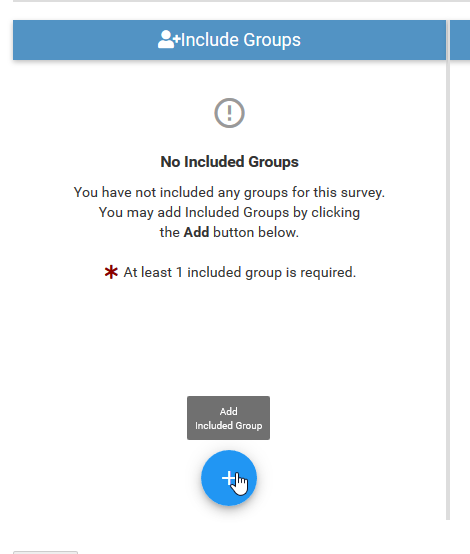 Include Groups
