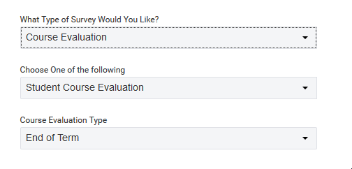 Survey Type