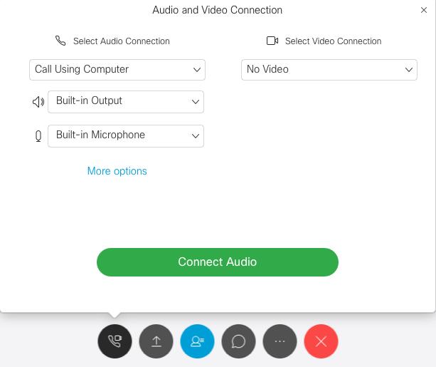 Selecting audio