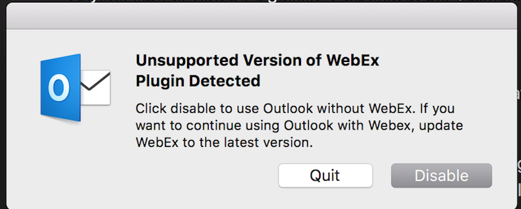 Mac unsupported version