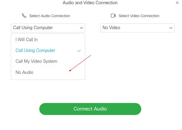Image of audio connections