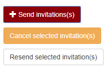 send invitation