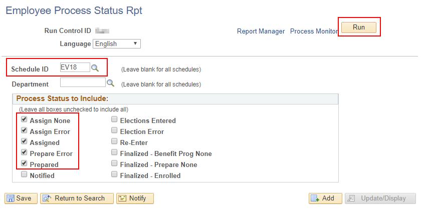 EE Status Report