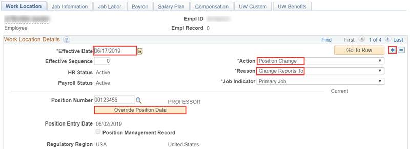 Job Data Update