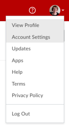 box account settings