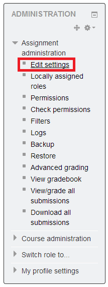 Assignment Settings Image