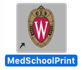 Med School Printing Shortcut