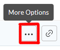 More options icon