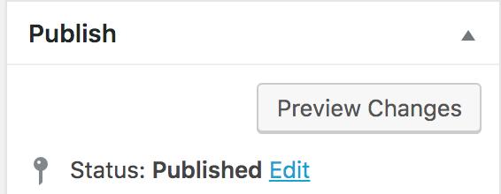 Publish Status field