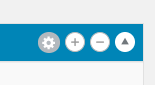 Settings Icon in Content Layouts