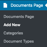Documents List Nav Link
