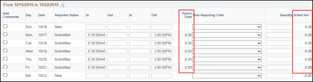 Manager Timesheet Emp w/Auto Lunch Deduction