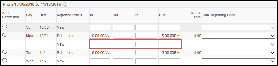 Manager Punch Timesheet Multiple Shifts Same Day