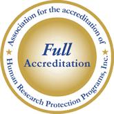 AAHRPP Accreditation Logo