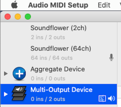 create audio devices